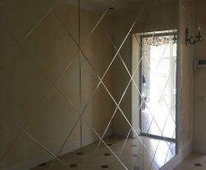 Алмазная гравировка на зеркале 1