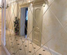Алмазная гравировка на зеркале 3