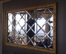 Зеркальное панно 7