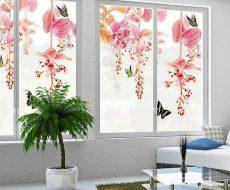 Декоративная пленка на стекло 1