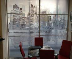 Декоративная пленка на стекло 11