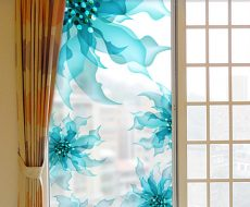 Декоративная пленка на стекло 14