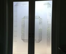 Гравировка на стекле 2