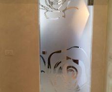 Сплошное матирование стекла 7